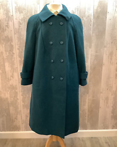 Eastex Wool Tweed Coat 1960s/70`s UK 16/18