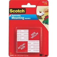 """3M 1"""" Mounting Tape Squares"""