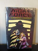 Night Force by Marv Wolfman and Gene Colan: The Complete Series Hardcover~