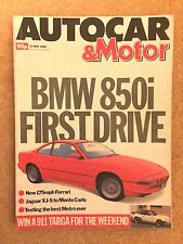 AUTOCAR MAGAZINE 17-MAY-89 - Rover Metro GTa, Citroen AX GT, BMW 850i E31
