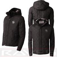 Mens Ecko Unltd Jacket Coat Padded Quilted Hooded Warm Winter PO1131