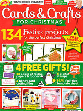 Cards & Crafts for Christmas Magazine 2017 Edition NEW Papercraft