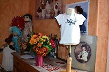 tee shirt neuf 12 mois cyrillus LIBERTY le petit oiseaux sur la branche