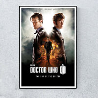 Dr Doctor Who The Day Of The Doctor Glossy Print Wall A4 Poster