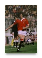 Jimmy Nicholl Signed 6x4 Photo Manchester United Northern Ireland Autograph +COA