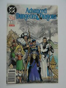 DC TSR Advanced Dungeons and Dragons #1 (1988 Series) Comic