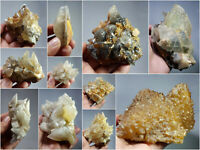Natural Dog Tooth Calcite Clusters Crystal Specimens Lot 11Pcs 5.1kg