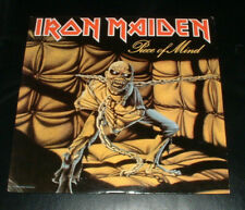 Iron Maiden Piece of Mind LP Canadian Pressing Canada Record Club Rare Near Mint