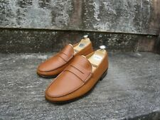 TOD'S LOAFERS – BROWN / TAN CALF – UK 8 – VERY GOOD CONDITION