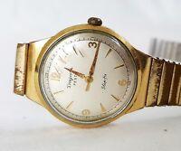 Armbanduhr Herren DUGENA Festa Slip-fix vintage Handaufzug 1950er Jahre