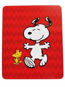 Peanuts Snoopy Silky Soft Throw Blanket 40in x 50in