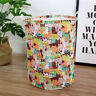 Cotton Waterproof Washing Bag Laundry Hamper Clothes Basket Foldable Storage