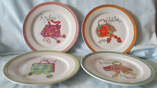 Rosanna Vacations Accessories Salad Plate set of 4