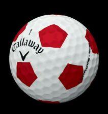 36 Near Mint 4A Callaway Chrome Soft Truvis Golf Balls (Red Soccer Ball) 00004000