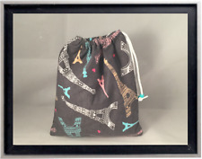 Gymnastics Leotard Grip Bags /  Elegant Eiffel Tower Gymnast Birthday Goody Bag
