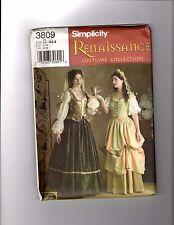 Women's Renaissance Dress patterns