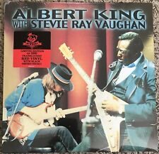 Albert King With Stevie Ray Vaughan In Session Exclusive NC Red Vinyl LP Sealed
