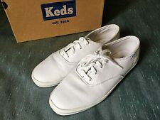 Keds Champion 2K Oxford Leather white WH45750 older production Wmns 10 Mns 8.5 9
