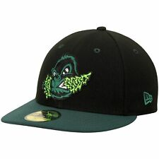 Eugene Emeralds New Era Authentic Road 59FIFTY Fitted Hat - Black/Green