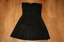 NEW! WAREHOUSE party dress SIZE 10 prom ball LBD bustier skater 50's hepburn