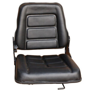 Forklift Seat Chair Tractor Excavator Forklift Truck Bobcat Leather Machinery AU