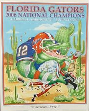 Florida Gators Football Signed Limited Edition 2006 National Championship Print