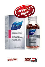 PHYTO Phytophanere Hair & Nails 120 caps FREE INTERNATIONAL SHIPPING
