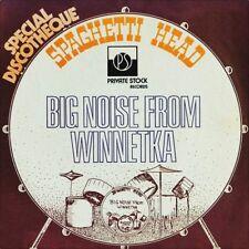 """7"""" spaghetti Head Big Noise from Winnetka STEREO/MONO radio private stock US 1974"""