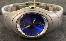 OAKLEY Original TIME BOMB Watch~ Titanium, X Metal,Blue Face LOW SERIAL No: 780