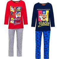 Paw Patrol Pyjama Schlafanzug Marshall Rubble Chase für Jungen