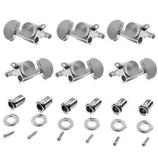3R+3L Chrome electric/acoustic Guitar Locking Tuners Peg tuning Machine Heads