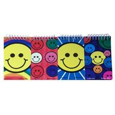 4 X SMILEY HAPPY FACE NOTEPADS - KIDS SCHOOL STATIONERY SMILE PARTY BAG FILLER