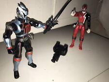 "Power Rangers SPD Red Ranger Shadow Ranger 2004 Bandai 6"" Action Figure"