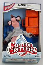 Capitol Critters TV Show JAMMET RAT Figure 1992 Kenner new in box