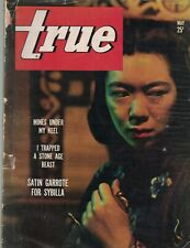 True Magazine May 1943 Mary Barton Chisholm Trail Japanese Soldiers in Hong Kong