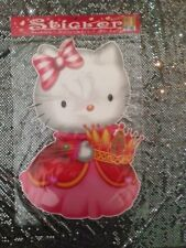 Hello Kitty Large Peel N Stick Bedroom Wall Decal Decoration New 21.5 X 14