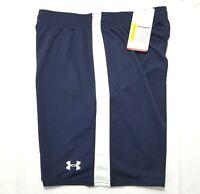Under Armour Women's Size S HeatGear Soccer Jersey Activewear Shorts, Blue, NWT
