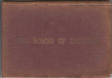 1884 RARE OLD HOMES OF IPSWICH ARTHUR WESLEY DOW SKETCHES OF HOMES MASSACHUSETTS