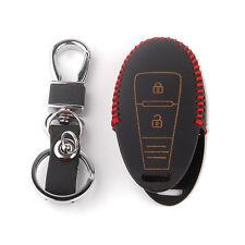 Leather Smart Remote Key Shell Case For SUZUKI SX4 Vitara S-CROSS Swift Kizashi