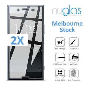 2x Nuglas for Sony Xperia XA X XZ XZ1 XZ2 XP Mini Compact Ultra Screen Protector