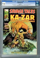 Savage Tales  #9  CGC  9.6  NM+  White pgs  3/75 Shanna the She-Devil App.  Mike