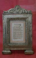 Cartagloria Settecentesca lavorazione foglia argento