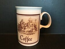 "DUNOON MUG ""Coffee"" Scottish Stoneware"