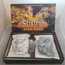 2005 Hasbro Milton Bradley Stratego Star Wars Saga Edition Board Game