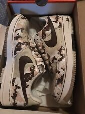 Nike air force one 1 desert camo sand camouflage size 10.5
