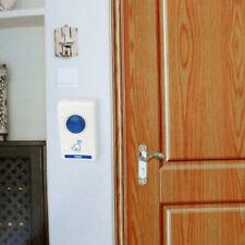 WIRELESS DOOR BELL DOORBELL DIGITAL CORDLESS PORTABLE 32 CHIME 100M RANGE HOME
