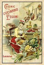 COME SI CUCINANO I LEGUMI - (ANASTATICA 1895 )