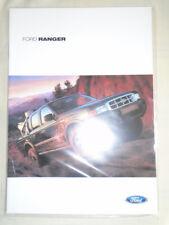 Ford Ranger range brochure Mar 2002