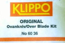 Orig. Klippo-Mullchmesser-Klingen, Ovankniv/Over Blade Kit, No. 6036-4