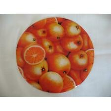 Andreas JO-923 Oranges Round Silicone Mat Jar Opener - Pack of 3 trivets